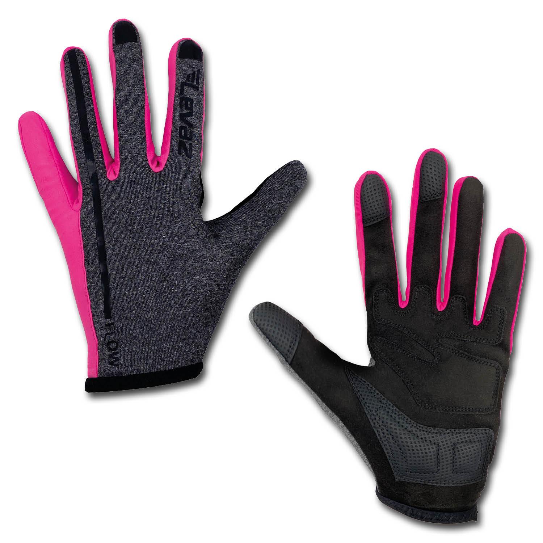 MTB-Handschuh-Mountainbike-Fahrradhandschuh-Damen-Sommer-schwarz-pink-MX-Enduro-Downhill-Gloves