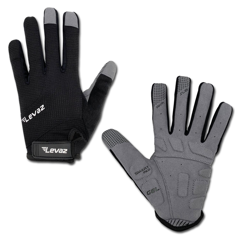 MTB-Handschuh-Mountainbike-Handschuh-Downhill-schwarz-whip-Levaz