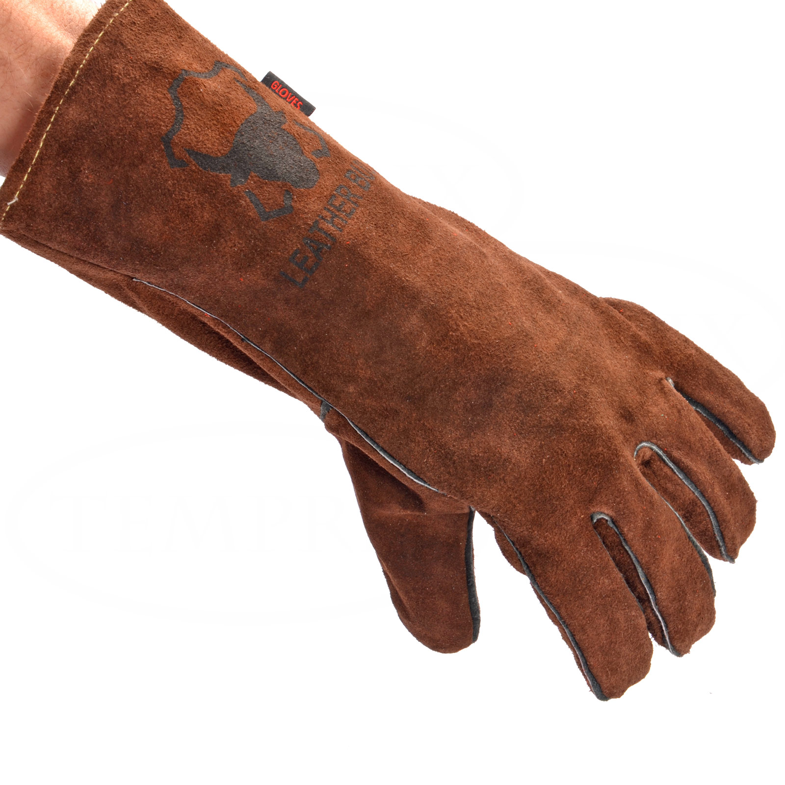 Grillhandschuh Leatherbull Braun